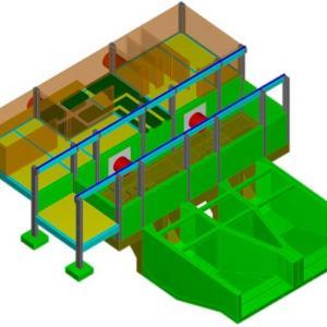 Cálculo estrutural da obra