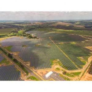 Instalação de usina solar fotovoltáica