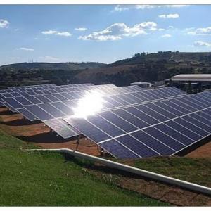 Projeto de rede de distribuição de energia elétrica rural