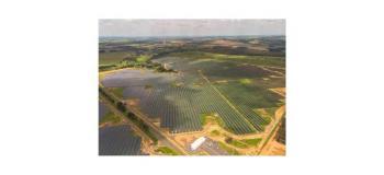 Usina solar em industria